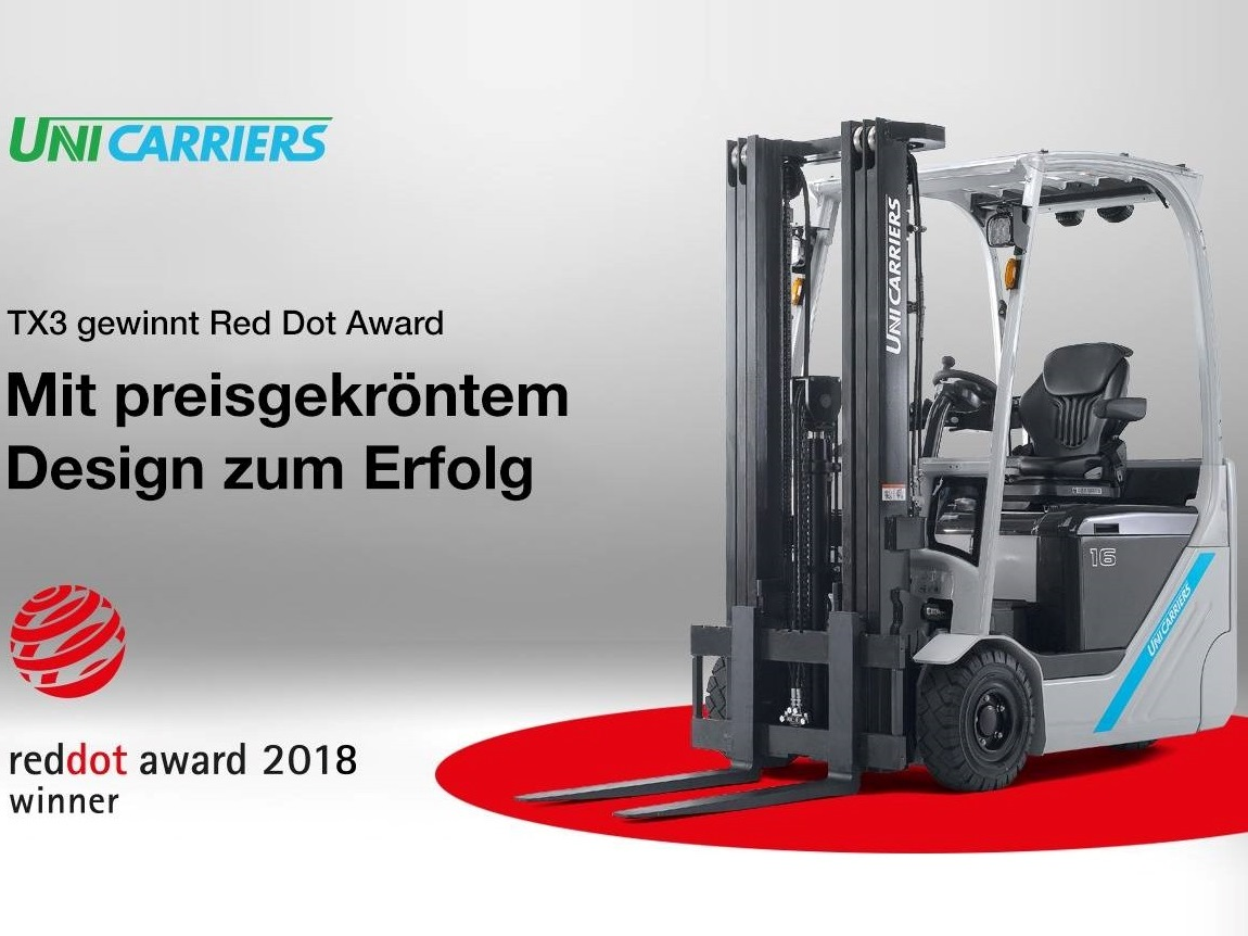 redot Award 2018 UniCarriers TX3