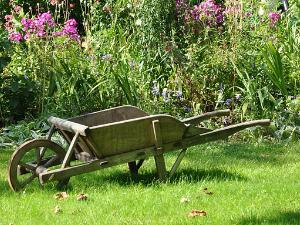 Miet-Gabelstapler für die Gartensaison