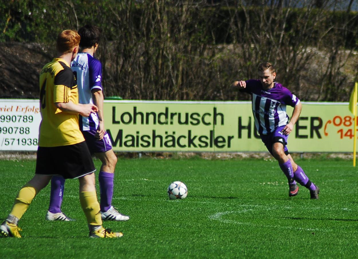 Wolfgang Vogt hatte bei Spiel in Moosinning kein Glück und der Torjäger blieb im Vergleich gegen den FCM ohne Treffer