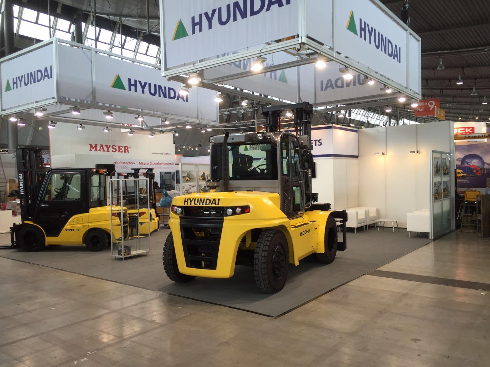 Hyundai Kloz Logimat Messe 2016