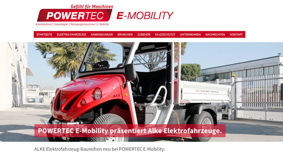 Powertec Emobility präsentiert Alke Elektrofahrzeuge www.epowertec.de