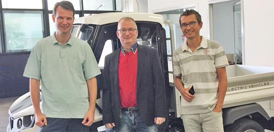 Powertec eMobility vor Ort: Premiere neuer Alke ATX Elektrofahrzeuge