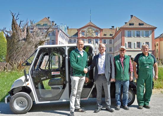 Powertec eMobility News: Insel Mainau erhält Alke ATX Elektromobil