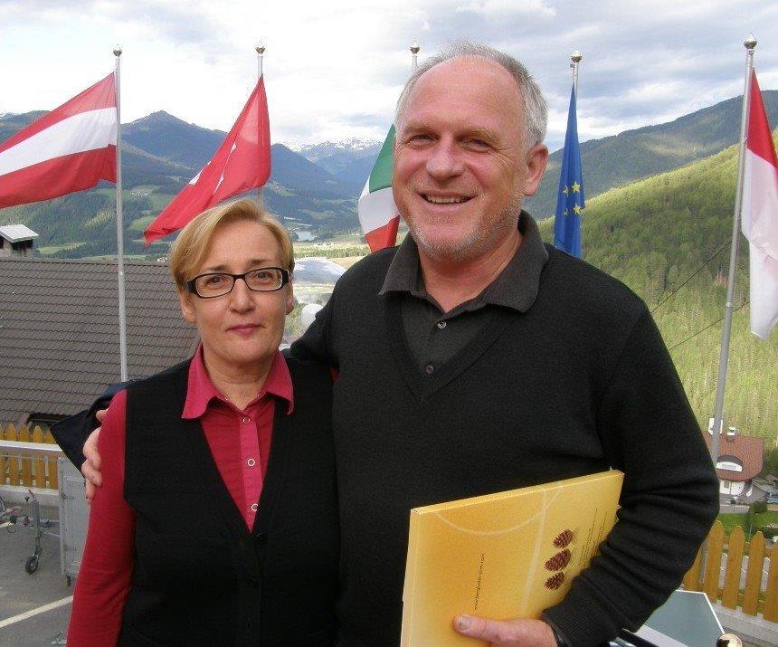Unser langjähriger Kunde Emil mit Gattin aus Slowenien