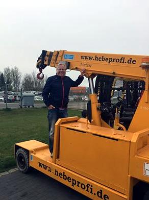 Netter Besuch aus Burgthann !! oder Norbert trifft Norbert !!!