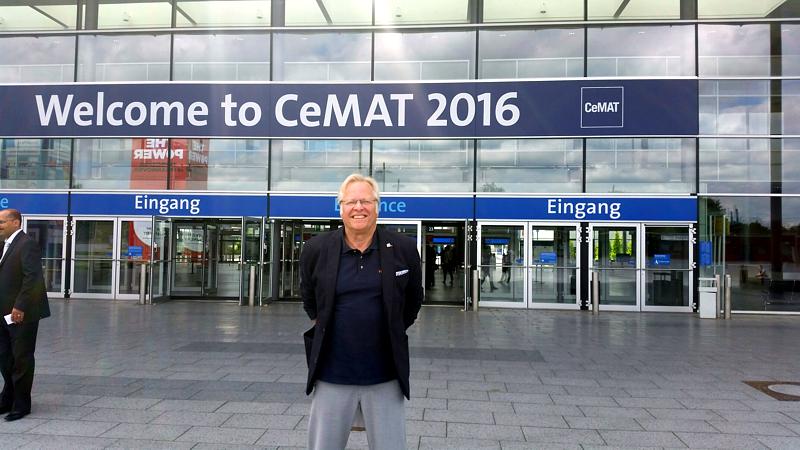 Seit 1985 haben wir keine Hannover Messe - CeMAT verpaßt.