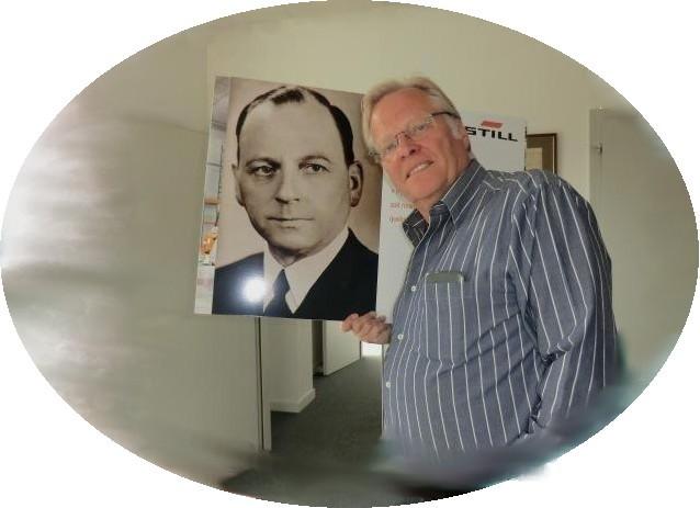Zwei , die mit Leidenschaft das Thema STILL bearbeiten: Hans Still und Norbert Zimmermann.