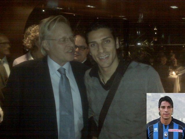mit Sergio Floccari, Atalanta Bergamo (Nr.33) - 2009