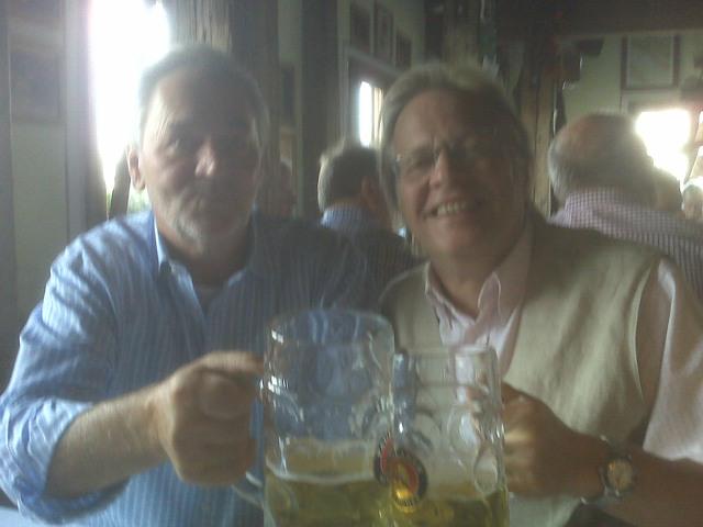 mit Josef Hetzenegger auf der Wiesn - 2009