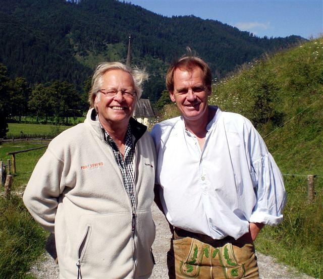 Besuch bei Skilegende Markus Wasmeier am Schliersee