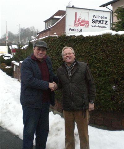 Von wegen Rente mit 67 - Ende 2010 verabschiedeten wir Wilhelm Spatz mit 83 Jahren und nach 25 Jahren guter Zusammenarbeit in den wohlverdienten Ruhestand.