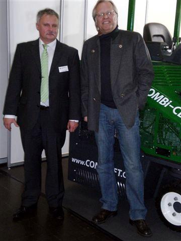 Mit Steffen Koßmann auf der INTEC-2011
