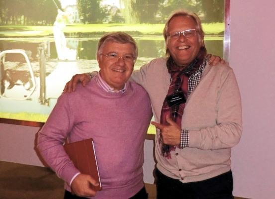 Con Alberto Panni alla festa della Blackforxx
