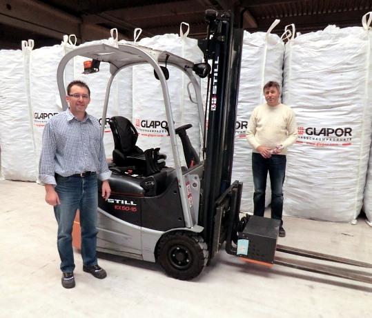 Die Fa. GLAPOR Deutschland GmbH erhielt im November 2012 ihren neuen (gebrauchten) STILL RX50-15