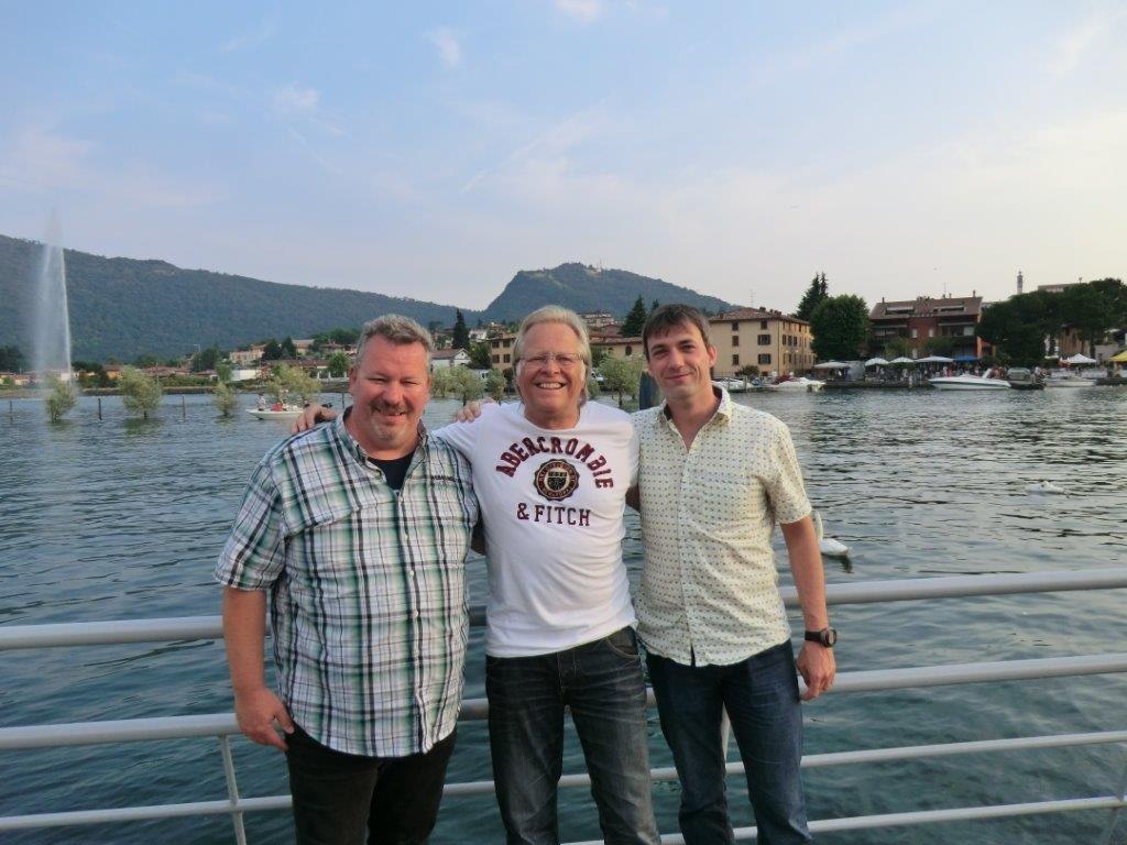 mit Fa. Wachtendorf auf Besuchsreise in Italien