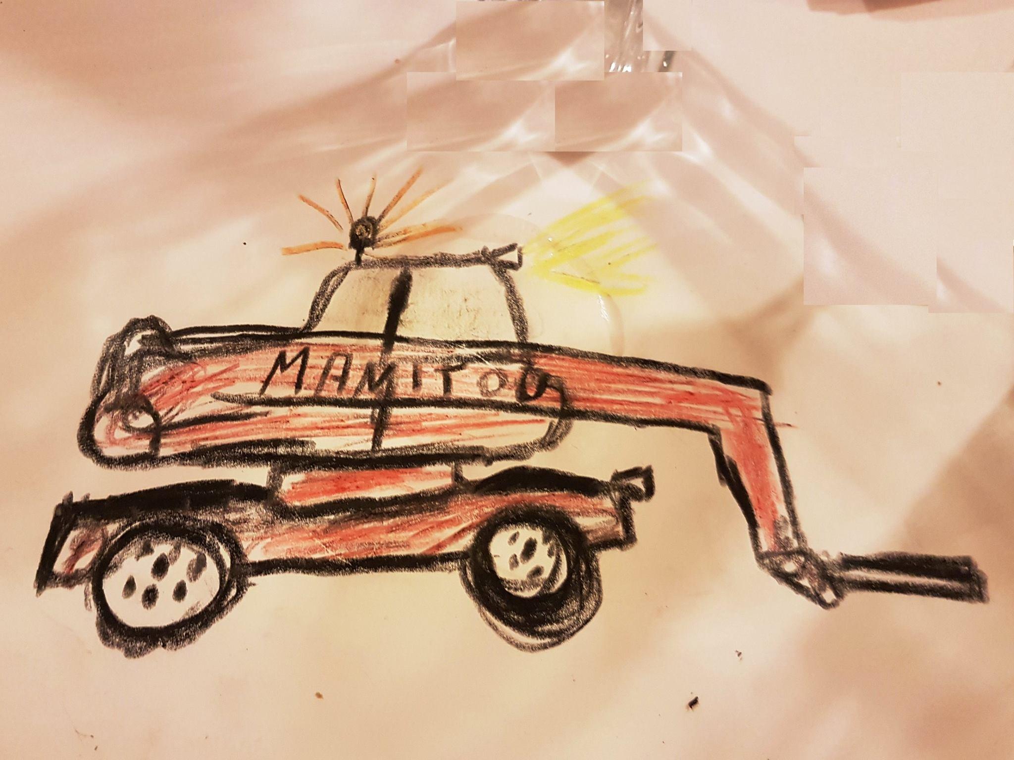 Manitou MRT gemalt von unserem