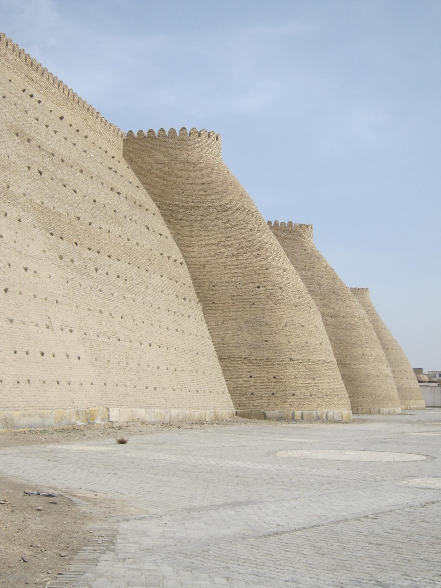 Buchara Stadtmauer