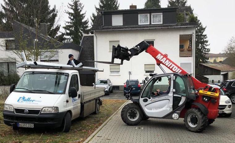 Miete Teleskopstapler  – Baustellen Problem in Hessen gelöst!
