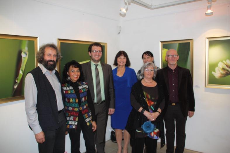 V.l.: Laudator Hubert Glaser, Patricia Vasquez, Bürgermeister Florian Gams, KGV-Vorsitzende Erika Schwitulla, Mona Thiel, Regina Schmidtmayer (KGV) und Egon Schlott.
