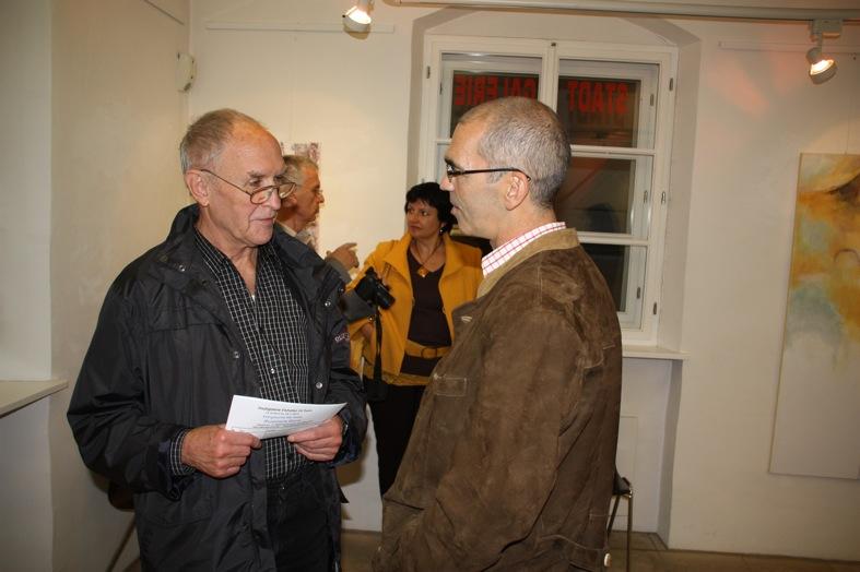 Gunther Braun (Galerie an der Wolfach, Ortenburg) im Gespräch mit Dr. Stefan Rammer