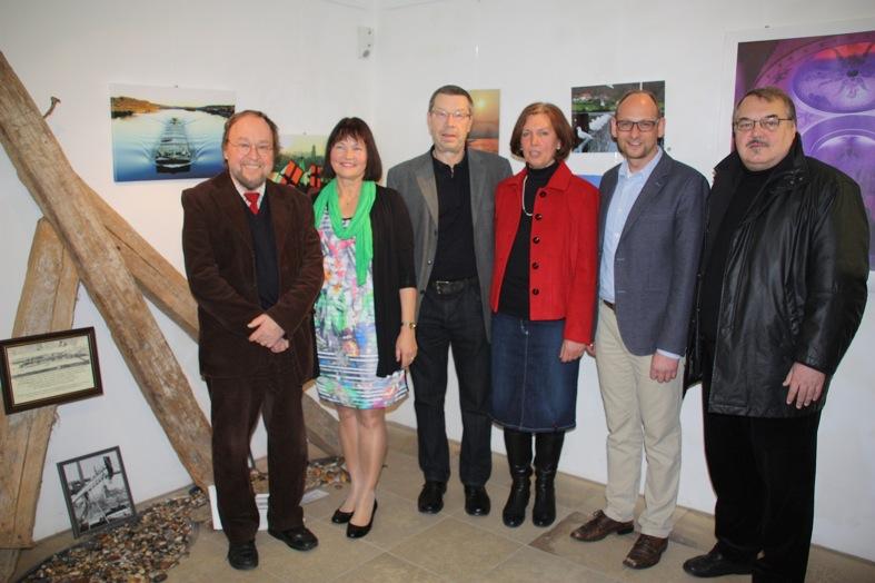 Von links: Laudator Walter Wanninger (KGV), KGV-Vorsitzende Erika Schwitulla, Franz und Maria Seidl, 2. Bürgermeister Christian Gödel und Ruderclub-Vorstand Karlheinz Schmid.