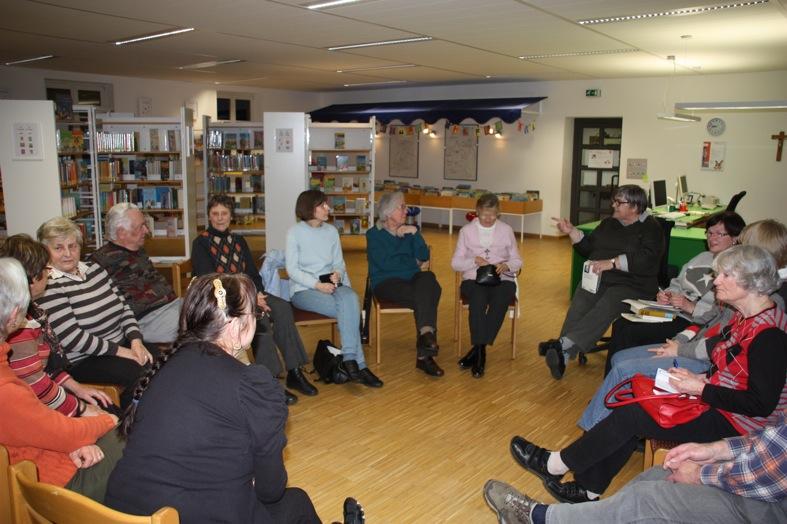 Literaturkreis-Treffen Februar 2012