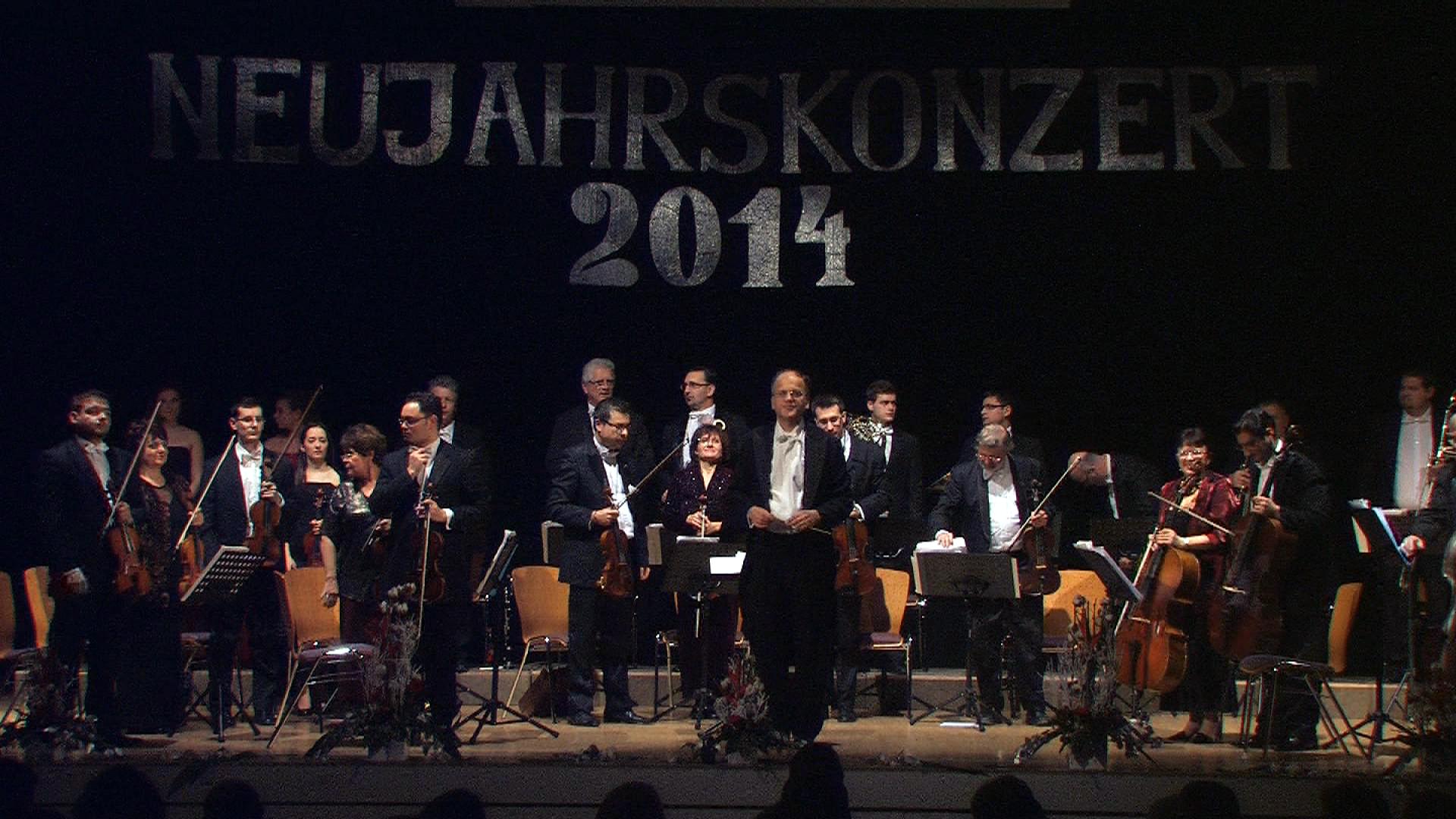 Die Ungarische Kammerphilharmonie unter Leitung von Antal Barnás