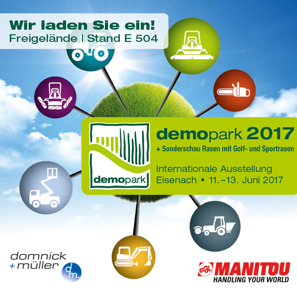 Domnick+Müller stellt aus: demopark 11. bis 13.06.2017