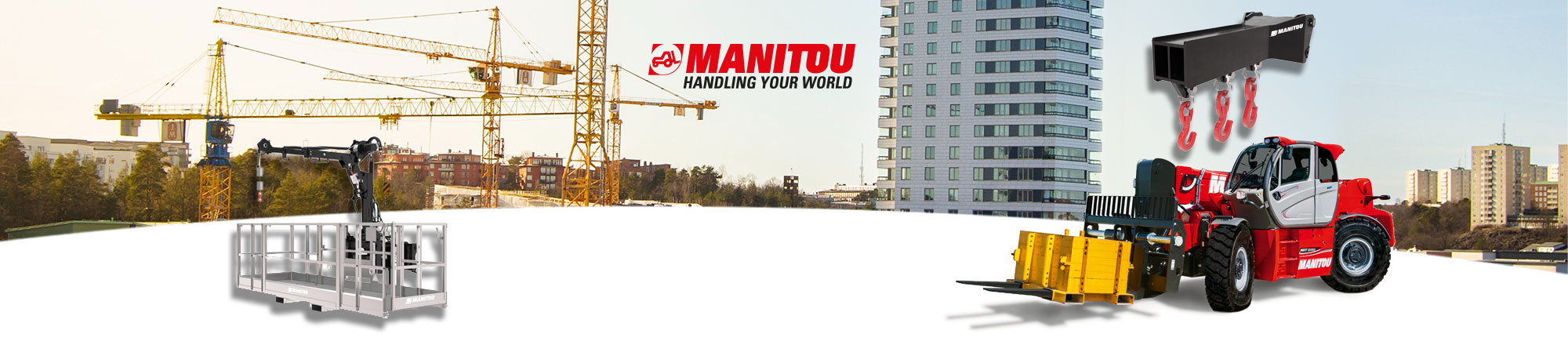 Manitou MHT - Construction Industry