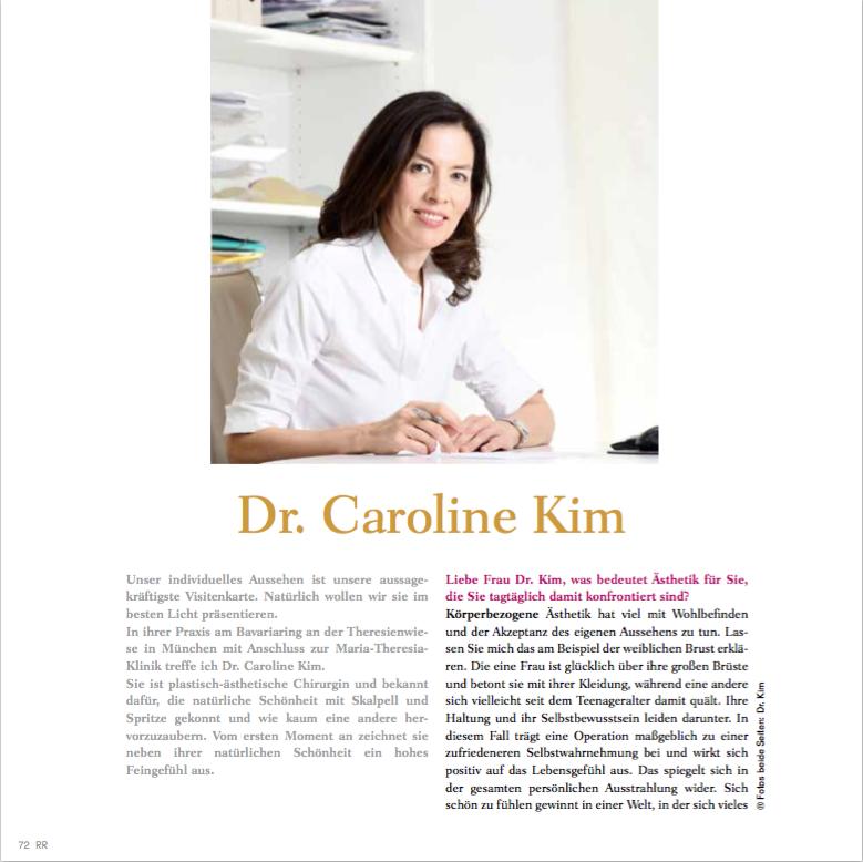 Interview – Dr. Caroline Kim