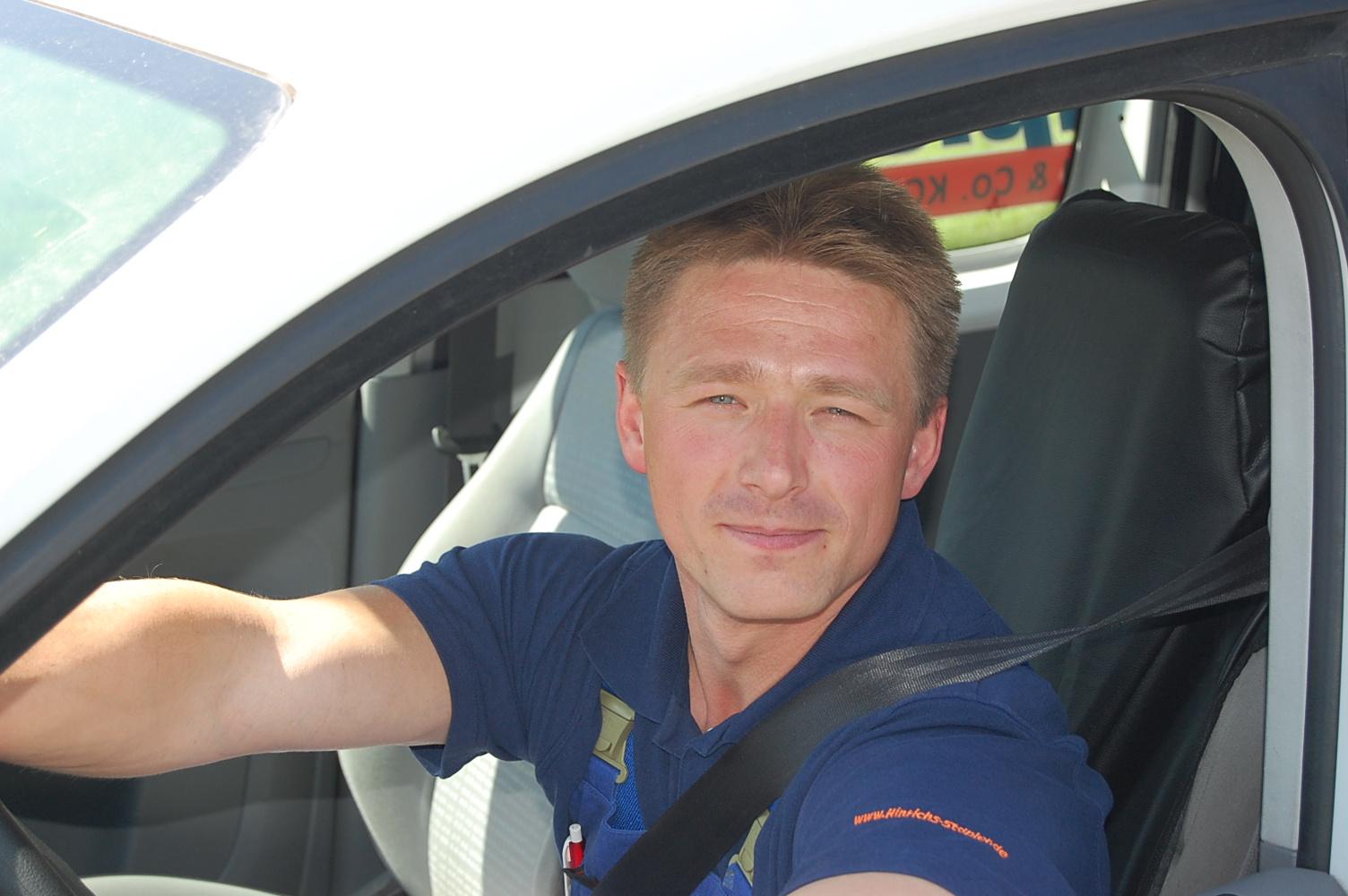 Peter Kriger - Hinrichs Forklift & Reachstacker - www.hinrichs-forklifts.com