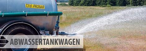 Abwassertankwagen