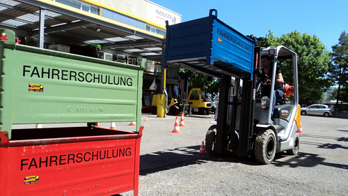INDUMA RENT - Stuttgart | Telescope Forklift - Working