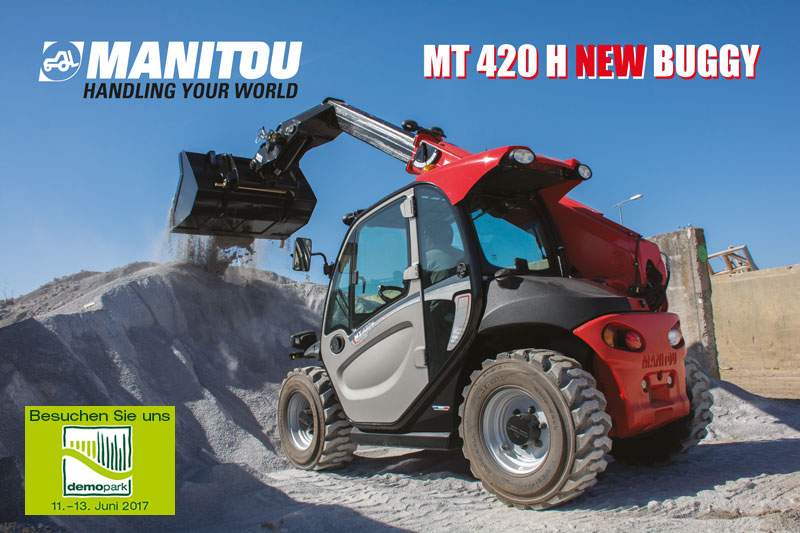 New Buggy Manitou MT 420 H